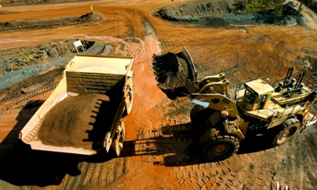 Capital expenditure figures show investment in the mining sector have fallen