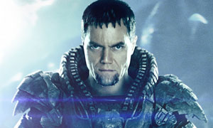 Michael Shannon as General Zod in Man Of Steel