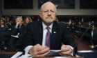 James Clapper, the US director of national intelligence.