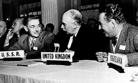 John Maynard Keyned un international monetary conference