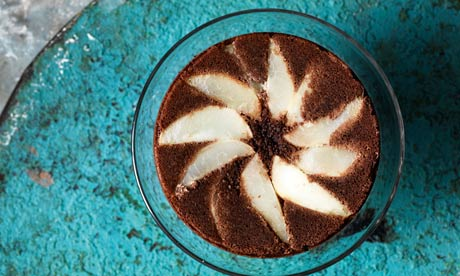 Pear Chocolate Cake Guardian