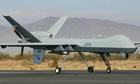 Armed British drone aircraft operated from Britain for the first time