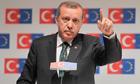 Turkey's prime minister, Recep Tayyip Erdogan, a