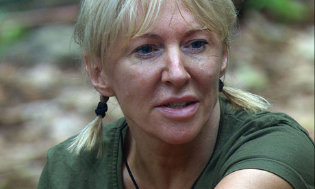 Nadine Dorries appears in I'm A Celebrity … Get Me Out Of Here! in Australia last year
