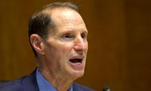 Senator Ron Wyden. Photograph: Jacquelyn Martin/AP