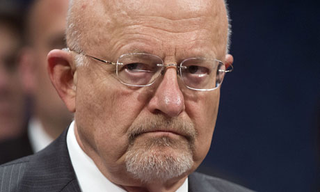 Director of National Intelligence James Clapper: 'In a rush to publish, media outlets have not given the full context.' Photograph: Saul Loeb/AFP/Getty Images