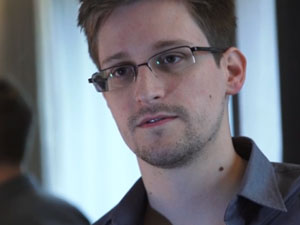 NSA whistleblower Edward Snowden: 'I don't want to live in a society that does these sort of things' – video