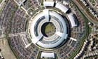 aerial view of the GCHQ building in Cheltenham