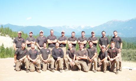 Arizona fire crew - Hotshot