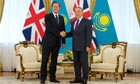 David Cameron and Nursultan Nazarbayev
