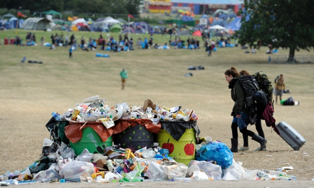Trade Stands Glastonbury : World news in pictures page