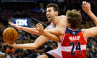 Andrea Bargnani is on his way from the Toronto Raptors to the New York Knicks