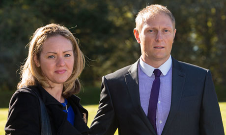Danny Nightingale and his wife, Sally