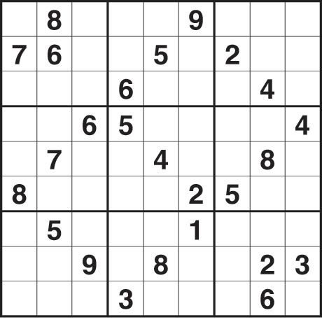 sudoku 2555 hard