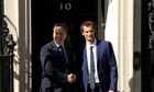 Andy Murray - Downing Street visit