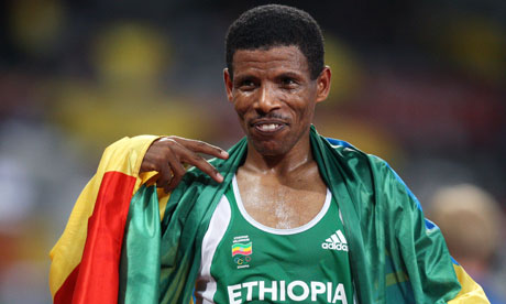 Haile Gebrselassie is regarded as a national icon by many Ethiopians