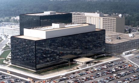 The NSA headquarters in Fort Meade, Maryland. Photograph: EPA