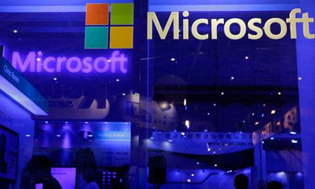 Microsoft pushes Eric Holder to lift block on public information sharing
