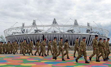 Soldiers had to provide security at the London 2012 Olympics after G4S failed to fulfil its contract