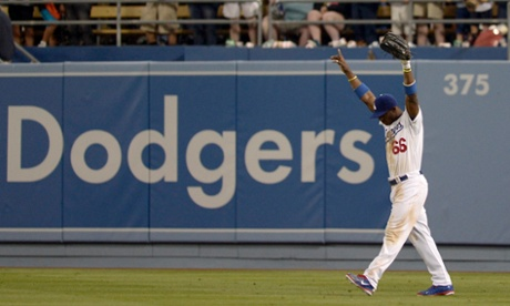Yasiel Puig's arrival is amongst the biggest stories of the 2013 baseball season.  EPA/PAUL BUCK