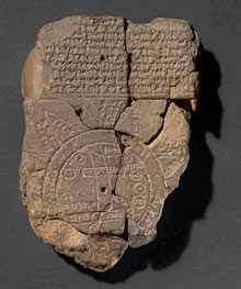 The Babylonian world map