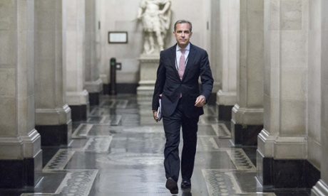 Mark Carney, governor of the Bank Of England, inside the central bank's headquarters. The Bank is open to visitors on Saturday as part of the City of London festival.