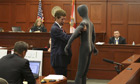 Mark O'Mara uses a mannequin at George Zimmerman trial