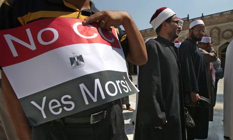 Egipto pro-musulmán protesta Hermandad