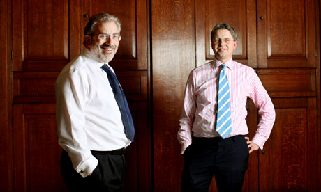Sir Bob Kerslake (left) and Cabinet secretary Jeremy Heywood
