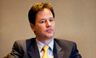 Nick Clegg unemployment