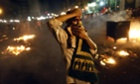 A supporter of the Muslim Brotherhood and of Egypt's ousted President Mohamed Morsi demonstrates in Cairo, Egypt.