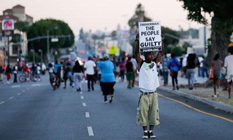 Trayvon Martin protest