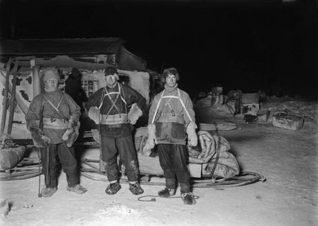 Terra Nova Expedition: Explorers before trek to Cape Crozier