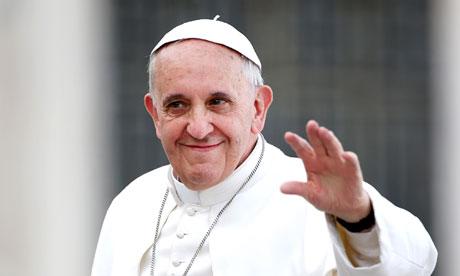 Pope Francis, at Vatican