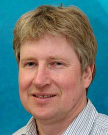 Dr Tony Fleming, direcot of the Australian Antarctic Division