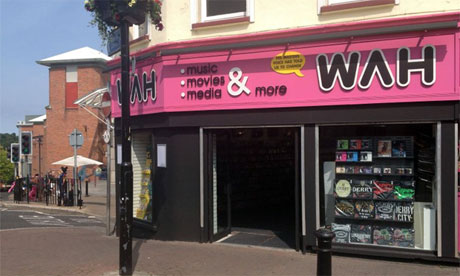 WAH store in Derry
