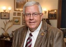 Mike Enzi, Republican senator for Wyoming
