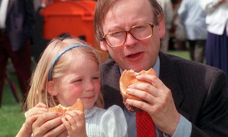 Former agriculture minister John Selwyn Gummer