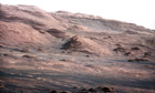 Landscape of Mars revealed by the Curiosity rover