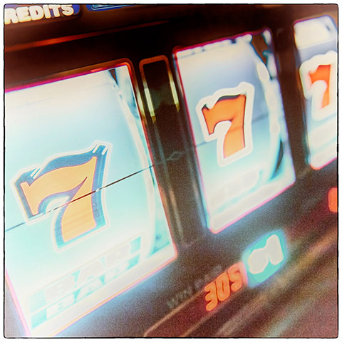 Las vegas gallery: Slot machine, Las Vegas