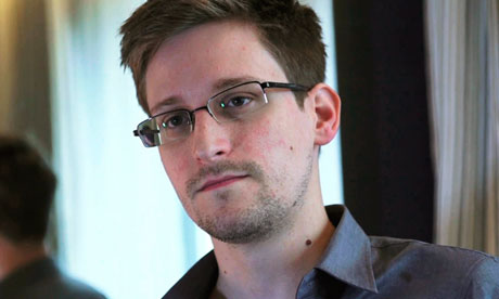 Edward Snowden. Photograph: Reuters/The Guardian