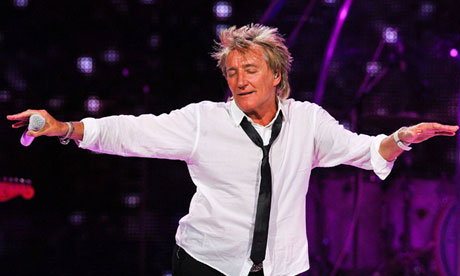 'What have you got in that handbag?' … Rod Stewart's pickup line.