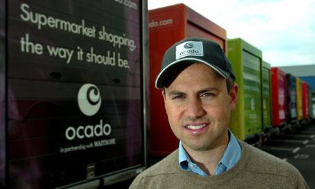 Ocado boss Tim Steiner high street shops