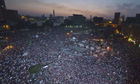 Opponents of Morsi's presidency gather in Tahrir Square, Cair