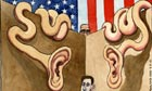 03.07.13: Steve Bell on the ongoing US surveillance row