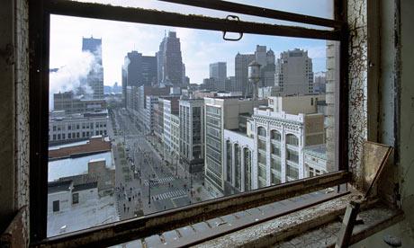Detroit Falling - Magazine cover