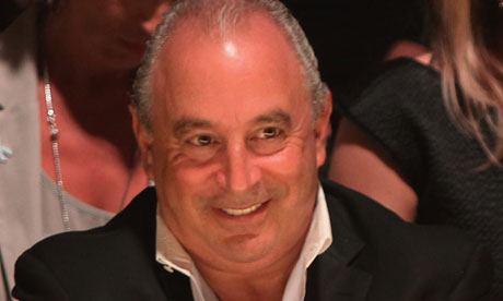 Topshop boss Sir Philip Green, who reported on the efficiency of government spending