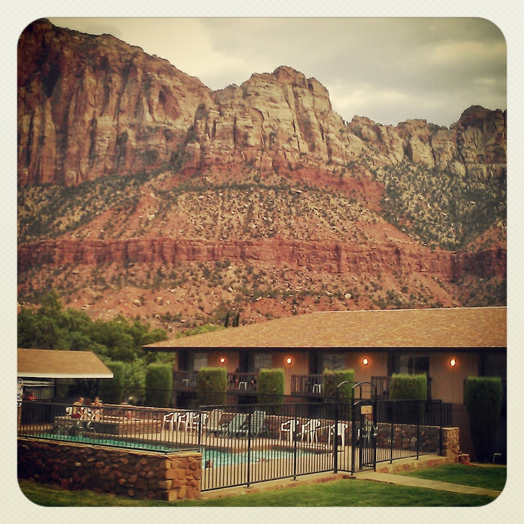 The Bumbleberry Inn near Zion National Park.