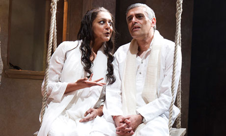 Meera Syal and the late Paul Bhattacharjee in Much Ado About Nothing