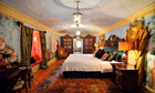 Versace mansion bedroom